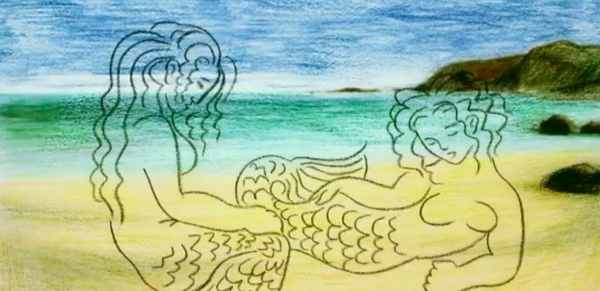 Happy #FolkloreThursday #ValentinesDay   Have a classic Cornish folk tale of love and mermaids, entirely in Kernewek (with English subtitles). Animated and written by @piskifilms, narrated by yours truly.  The Mermaid of Zennor https://youtu.be/z3AAj449z4M