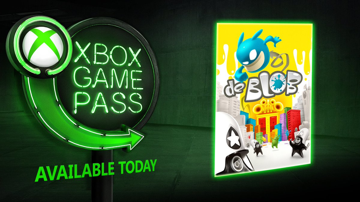@MarkWOfficial HAPPY VALENTINE'S DAY - we've spoiled you + put de Blob on #XboxGamePass ✌️  ICYMI, we added these 3 more games last week too:  Shadow of the Tomb Raider The Walking Dead: Complete First Season Pumped BMX Pro  Reply #STOP to unsubscribe from these lush updates