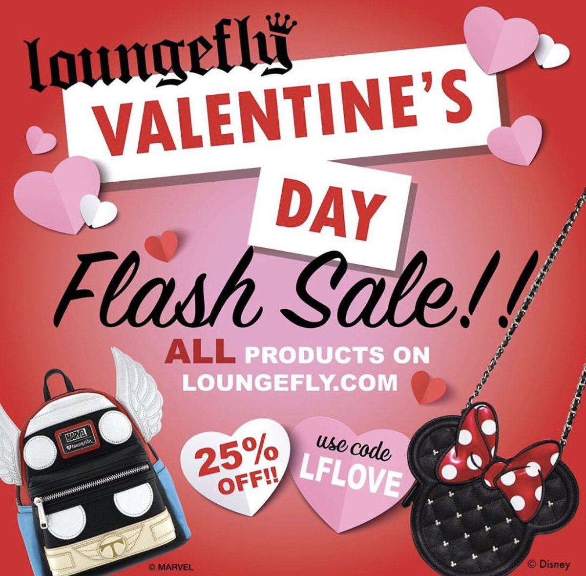 a50515f400d Hey Loungefly fans! Happy  ValentinesDay! Shop http   Loungefly.com