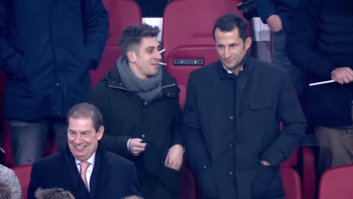 "Bayern & Germany в Twitter: ""Hasan Salihamidžić and chief scout ..."
