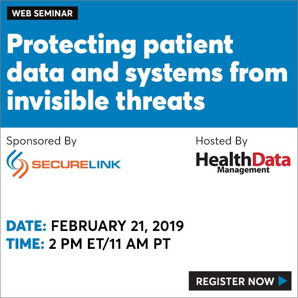 Event info: Where else do risks lie when it comes to the potential attack of patient data? #hdmwebseminarshttps://trib.al/YwbJi5x