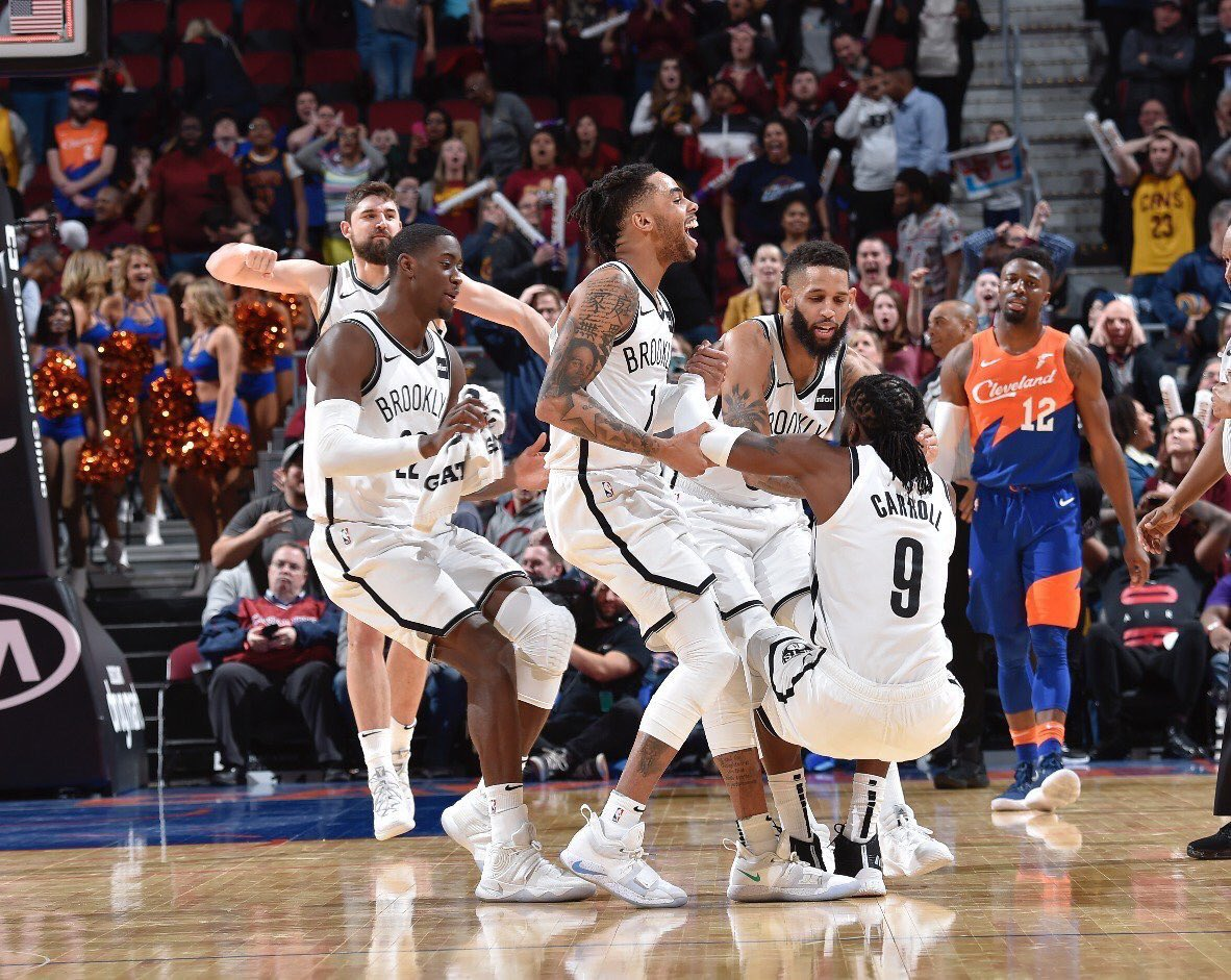 And finally, the Brooklyn Nets TEAM. They're 30-29 & the 6 seed in the East following a 28-win season.  It's authentic. They play for one another and having fun doing so. Egos checked at the door & guys buying into their roles.  They have things you can't teach.. like heart.