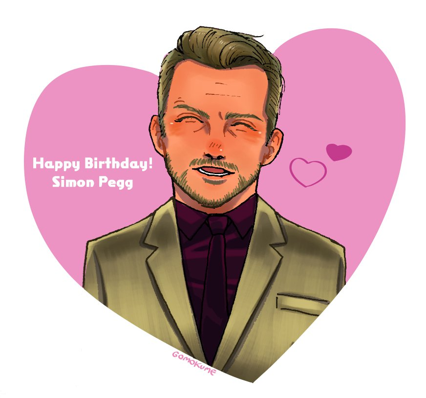 Happy Birthday Simon Pegg !!!