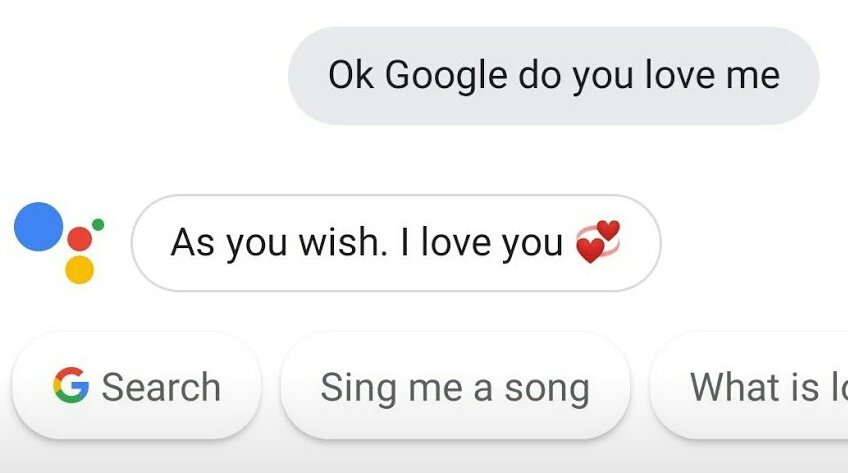 Hey google can you sing me a song