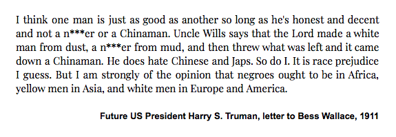 Harry Truman: Winston, hold my beer for a second