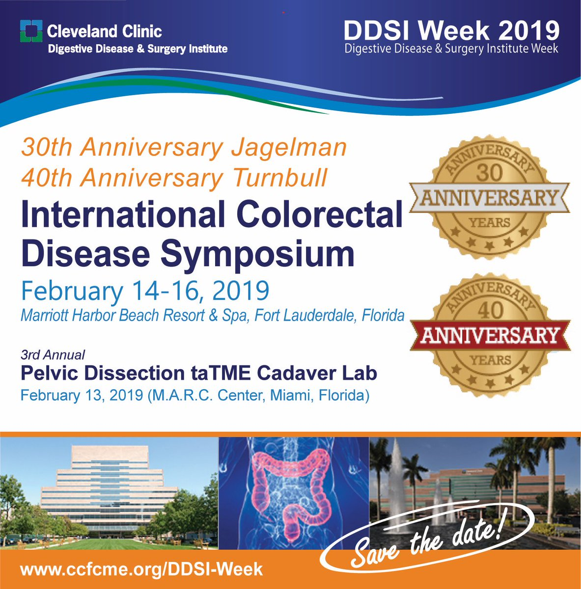 Great to have everyone in Fl @ClevelandClinic #DDSIWEEK19 🌎