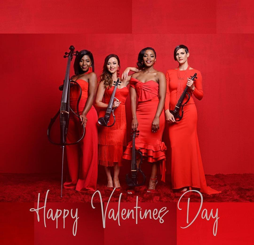 Happy Valentines Day💋♥️  Come celebrate #ValentinesDay with us tonight art Hard Rock Cafe PTA at @menlynsa   Also tune into @GrootFM at 16:30 for our interview.  Don't be swayed by the rain, our show set will be inside the Hard Rock Cafe 😊