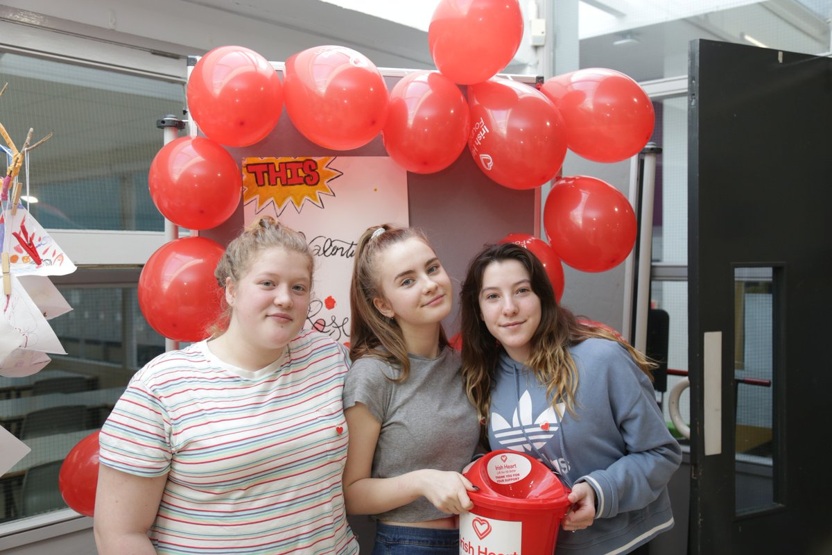 test Twitter Media - A group of our 8th class girls ran a little fundraising campaign for the Irish Heart Foundation at break time today. Well done girls! #valentinesday #Valentinstag @Irishheart_ie https://t.co/KI9CoHQA2G