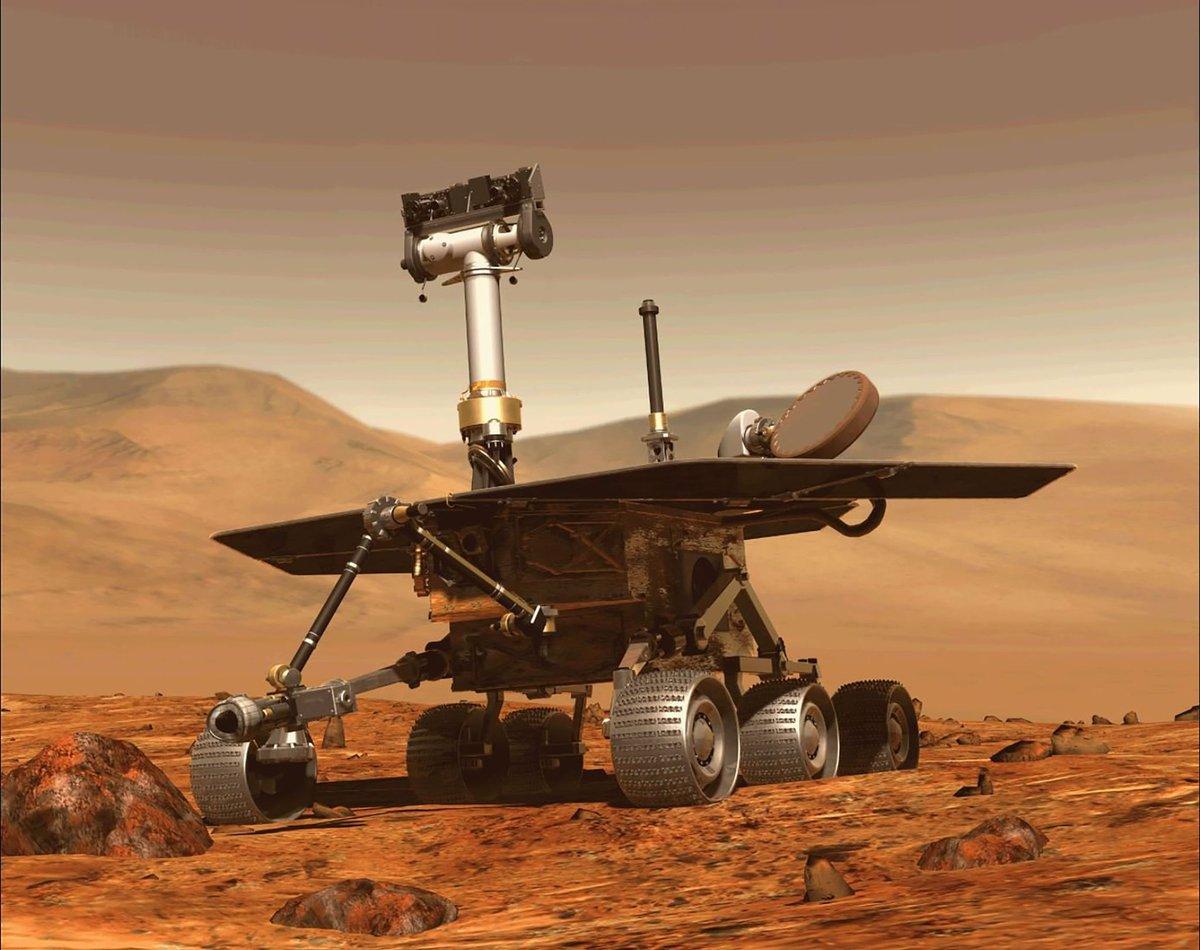 Rover Opportunity: 😪 Adiós al robot que fue a #Marte para tres meses y resistió 15 años 👉 https://t.co/JUvxDh7gcE