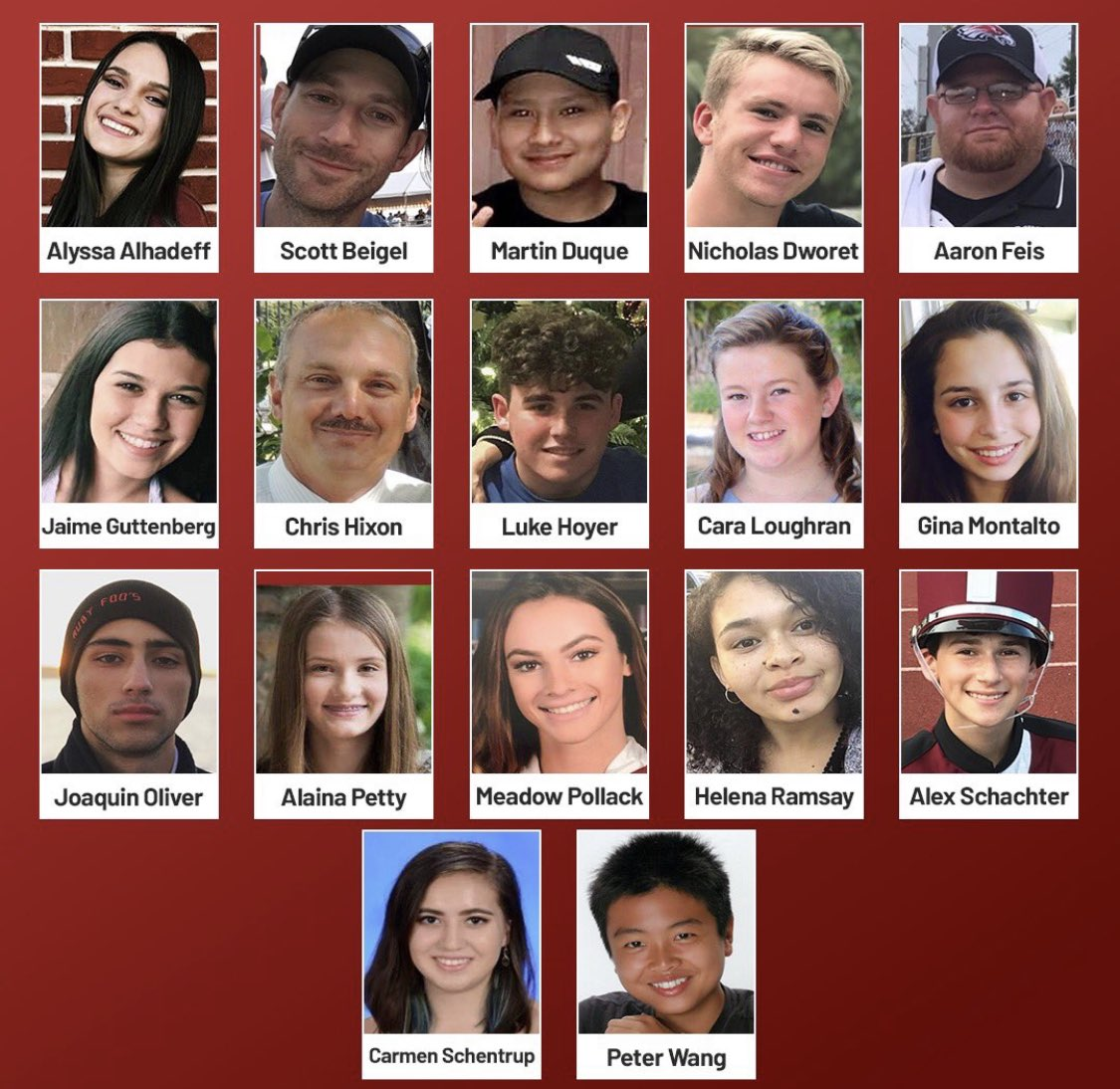 Today we remember the 17 victims who were cruelly gunned down at #MSD. We remember how the #Parkland students led historic statewide &amp; nationwide calls for action, and forced Republicans to make changes to our gun laws in Tallahassee for the first time in decades. <br>http://pic.twitter.com/GvPkIihbGU