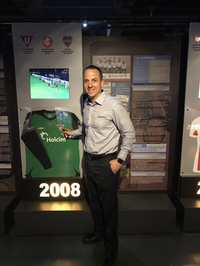 @EstebanPazR Museo del fútbol sudamericano!