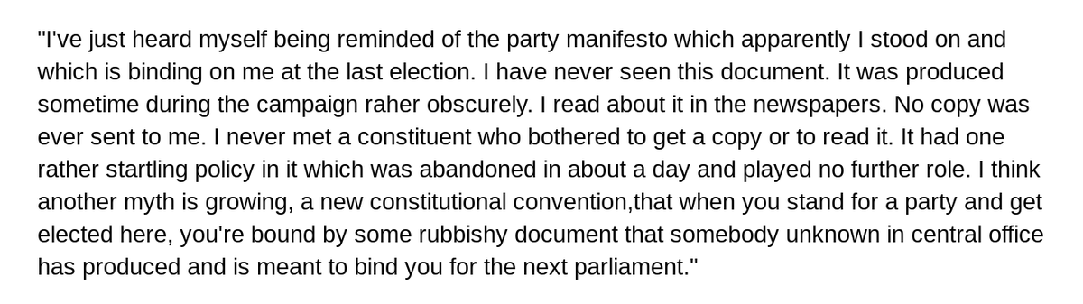 This is majestic from Ken Clarke.