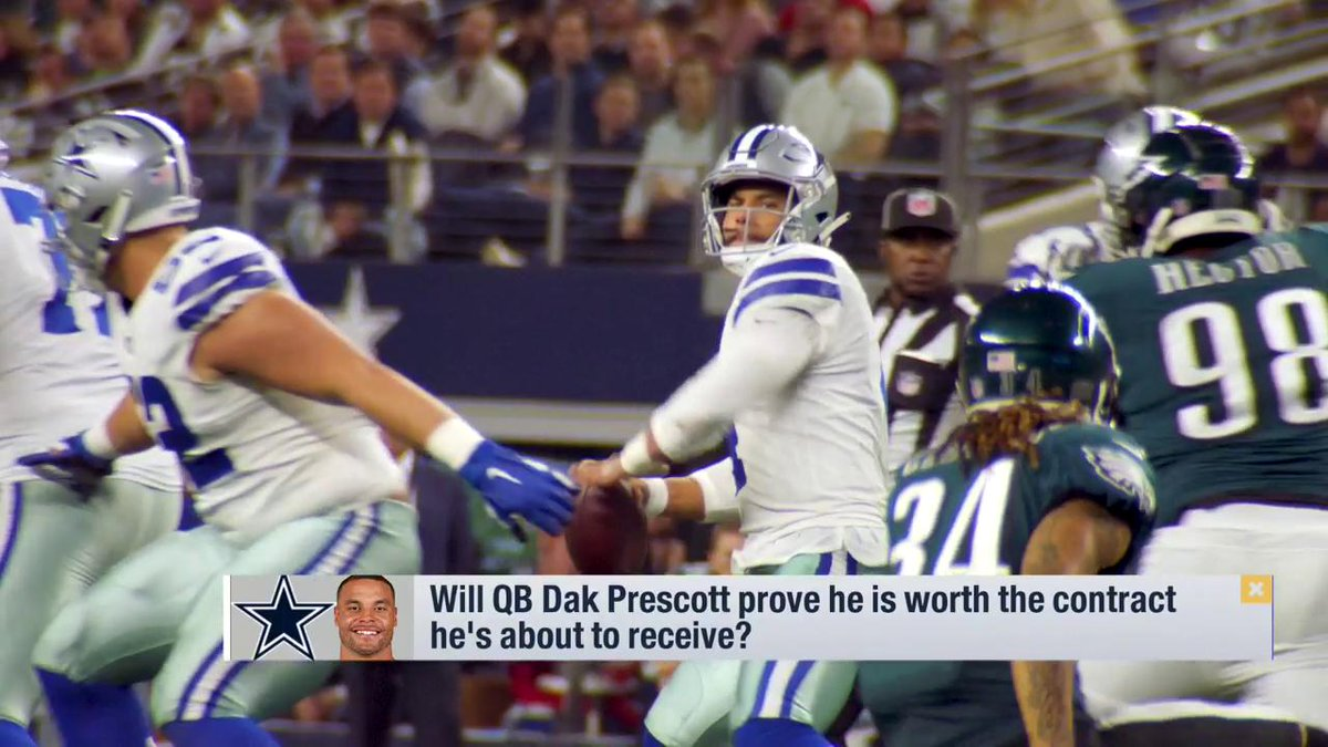 Is @dak worth the 💰he's going to get?  @Nate13Burleson says take a look at the #⃣s and pay the man.