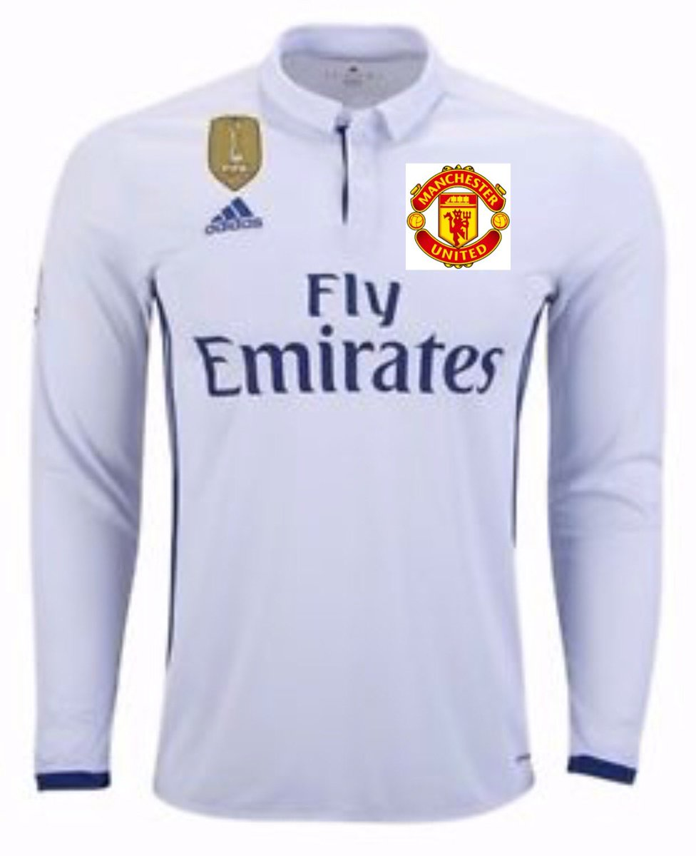 For the 2nd leg use this uniforms and see how the referees give ManU penalties and start to give yellow and red cards to PSG