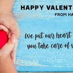 Image for the Tweet beginning: Happy Valentine's Day, from Harvard