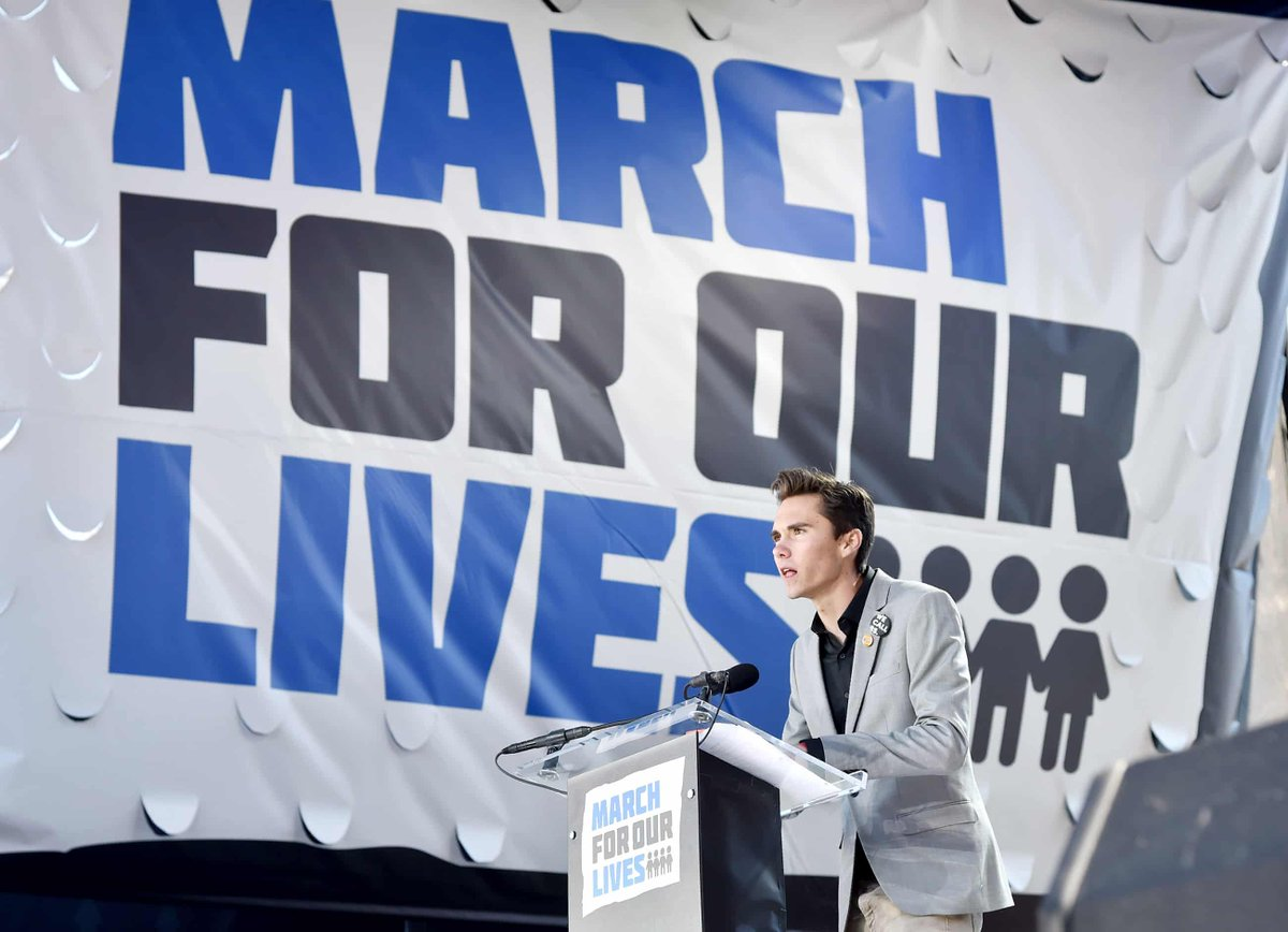 Parkland survivor @davidhogg111's goal for 2020 is to encourage more young people to vote. His goal is 71% youth turnout, up from 50% in 2016. Help reach that goal today by sharing this registration link far and wide:  https://t.co/onyjsbGE7y