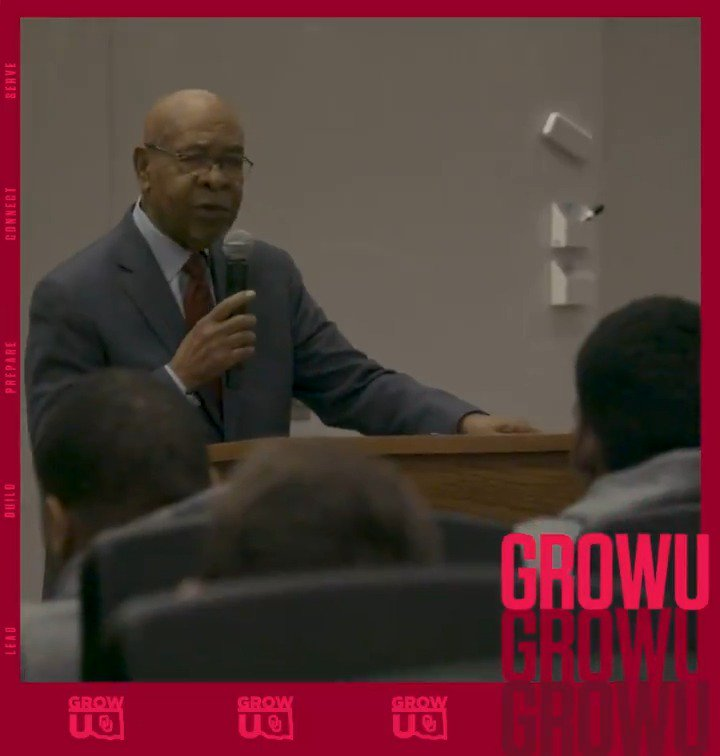 Together, we are strong.  Powerful message from Dr. George Henderson.  #BetterTogether #GrowU #BlackHistoryMonth