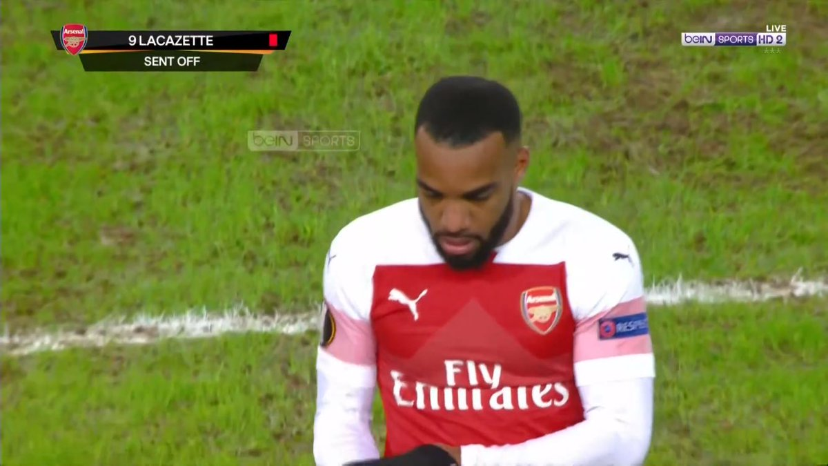 Lacazette so frustrated, even he wanted to leave early