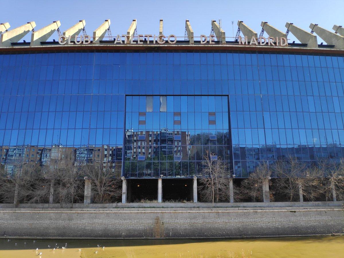 Last ever snaps from the Vicente Calderón. It was a pleasure @Atleti @atletienglish   📷 More photos 👉🏻 http://bit.ly/TTOTFbk  #AtleticoMadrid #VicenteCalderon