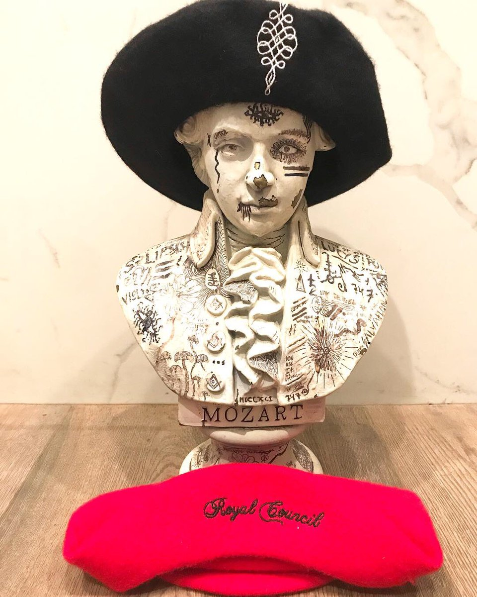 2967c22297112 As a surprise for Valentine s Day we released  Royal Council Red Beret  and   Cult Black Beret . https   palaye-royale.myshopify.com  pic.twitter.com   ...