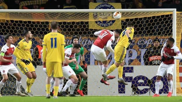 ไฮไล้ท์ ยูโรป้าลีก : บาเต้ 1-0 อาร์เซนอล