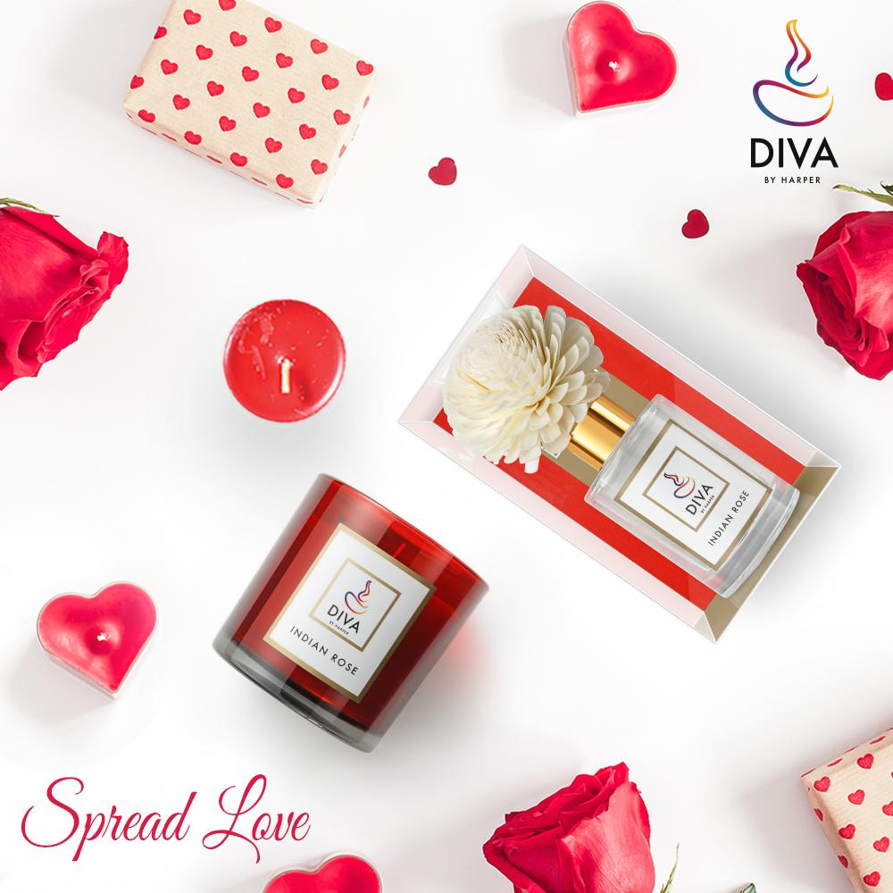 6 Want to get 'into' the right mood for romance? Try fragrance as a mood enhancer this #Valentine'sDay! Gift an Indian Rose Candles and Diffurser by #DivabyHarper https://t.co/obQyxNQ6Ki