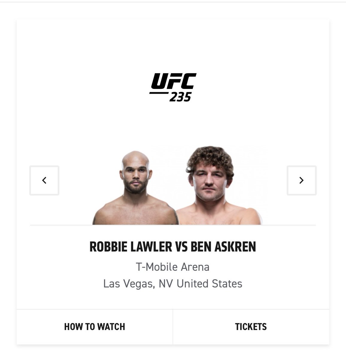 Roses are red,  Violets are blue,  We updated your headshot,  Just for you.  #HappyValentinesDay to @BenAskren. #UFC235
