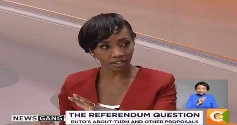 Yvonne: The president says there is no money and nurses cannot be paid but we are talking about having a referendum between now and 2022 #NewsGang