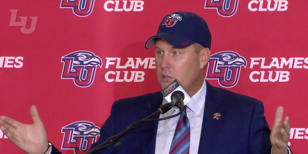 Hugh Freeze's return to the Natural State? Arkansas announces future game against Liberty  http:// dlvr.it/QyvsyG  &nbsp;  <br>http://pic.twitter.com/fXzygIDovM