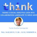 Image for the Tweet beginning: #Think2019: In her session @FemkeGoedhart's