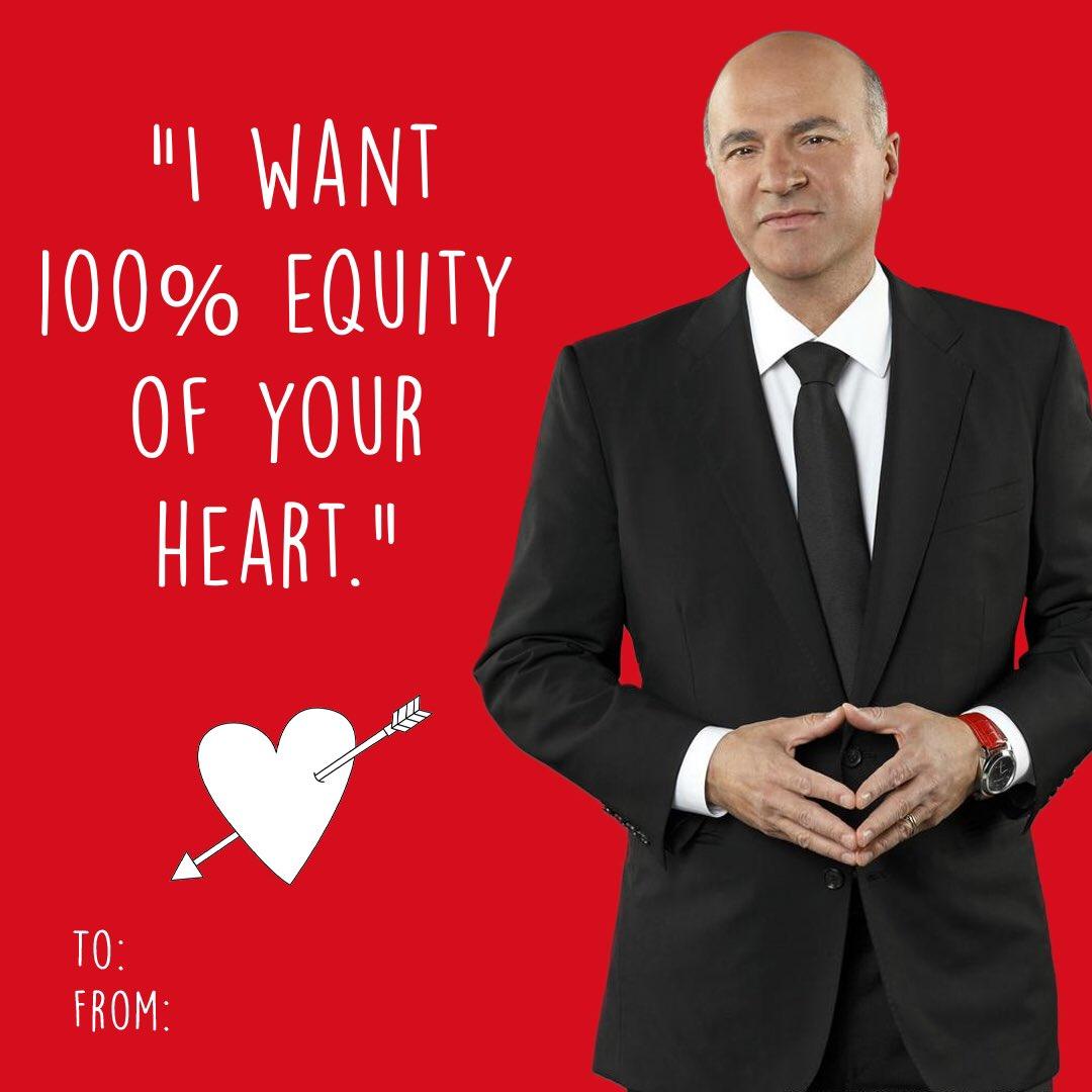 Happy Valentine's Day @kevinolearytv 😂