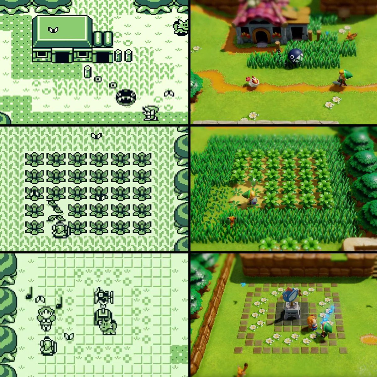 Gamepedia On Twitter A Look At Link S Awakening Then And