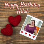 It's a special day for one of our success coaches. Happy Birthday, Hilah! We hope your day is full of sweet treats and love! #HappyBirthday #HPU365