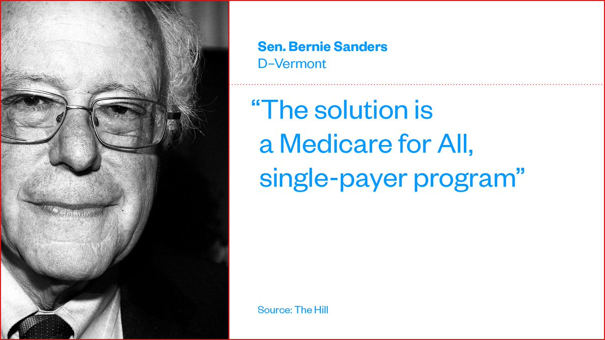 Sen. Bernie Sanders' plan replaces private health insurance with a state-run single-payer system http://bit.ly/2GFbupI