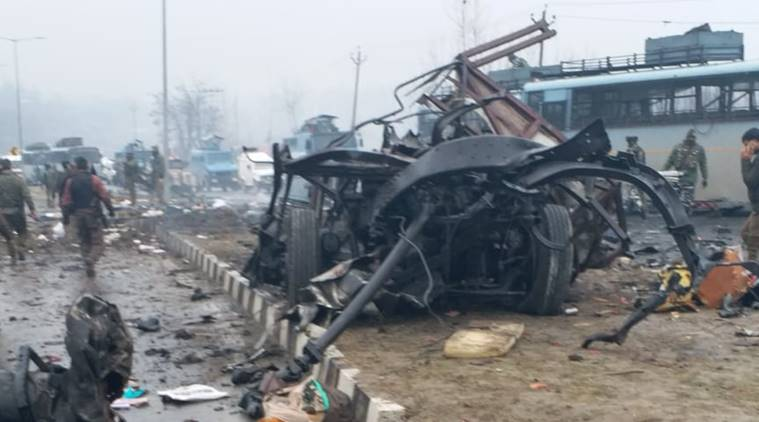 Nearly 40 CRPF personnel killed in #Pulwama. It is the deadliest attack in the state in two decades. Jaish-e-Mohammad has claimed responsibility for the attack and identified the bomber as a local militant. Live updates here: http://bit.ly/2GpTEYj