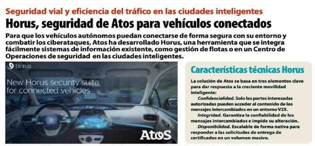 Seguridad vial y eficiencia del tráfico en las ciudades inteligentes. Horus, la seguridad de...