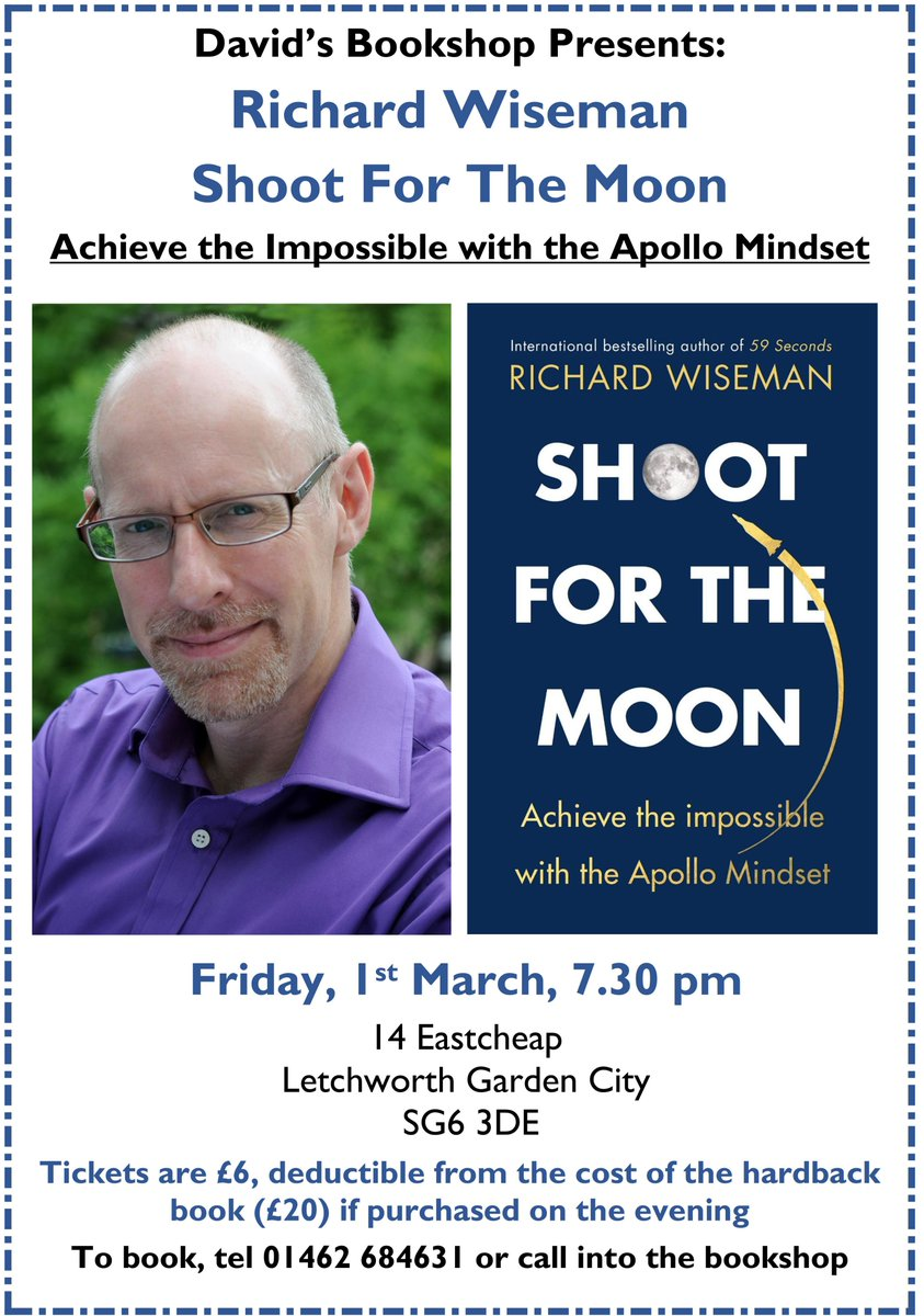 """59 Seconds Richard Wiseman david's bookshop on twitter: """"learn how to get into the"""