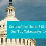 President Trump's State of the Union Address included numerous themes which have a direct or indirect impact on #workforcemobility. Find out our Top Takeaways for #Mobility from the 2019 State of the Union: https://t.co/XYWNKWXPQL