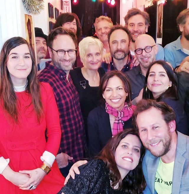 #ValentinesEve hosted by the wonderful #IoneSkye and #BenLee tonight! 02/13/19 So many great guests  #SusannaHoffs #JoshRadnor #JennyO #RachelRamras #HughDavidson #NeilStrauss #JillSobule #PeteYorn #TheSklarBrothers (pictured!)  http:// bit.ly/2Go87nT  &nbsp;  <br>http://pic.twitter.com/zTVFJYQV6P