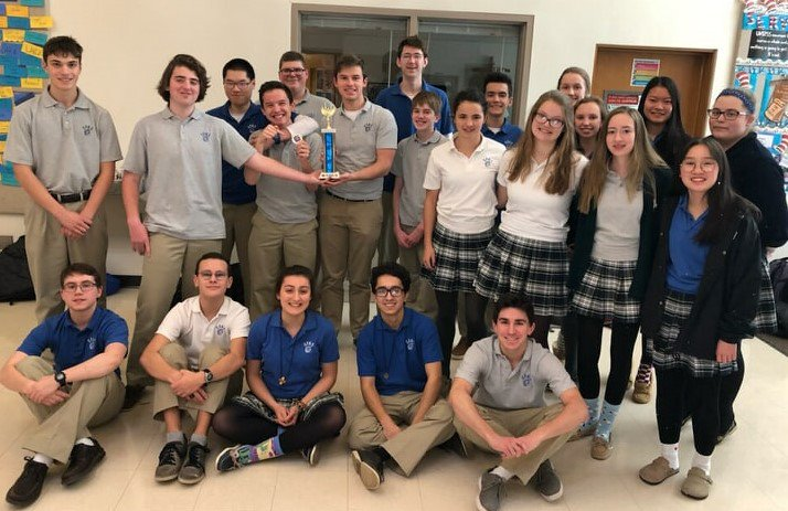 Congratulations to the Math Team for finishing in 2nd Place at the Marmion Invitational!