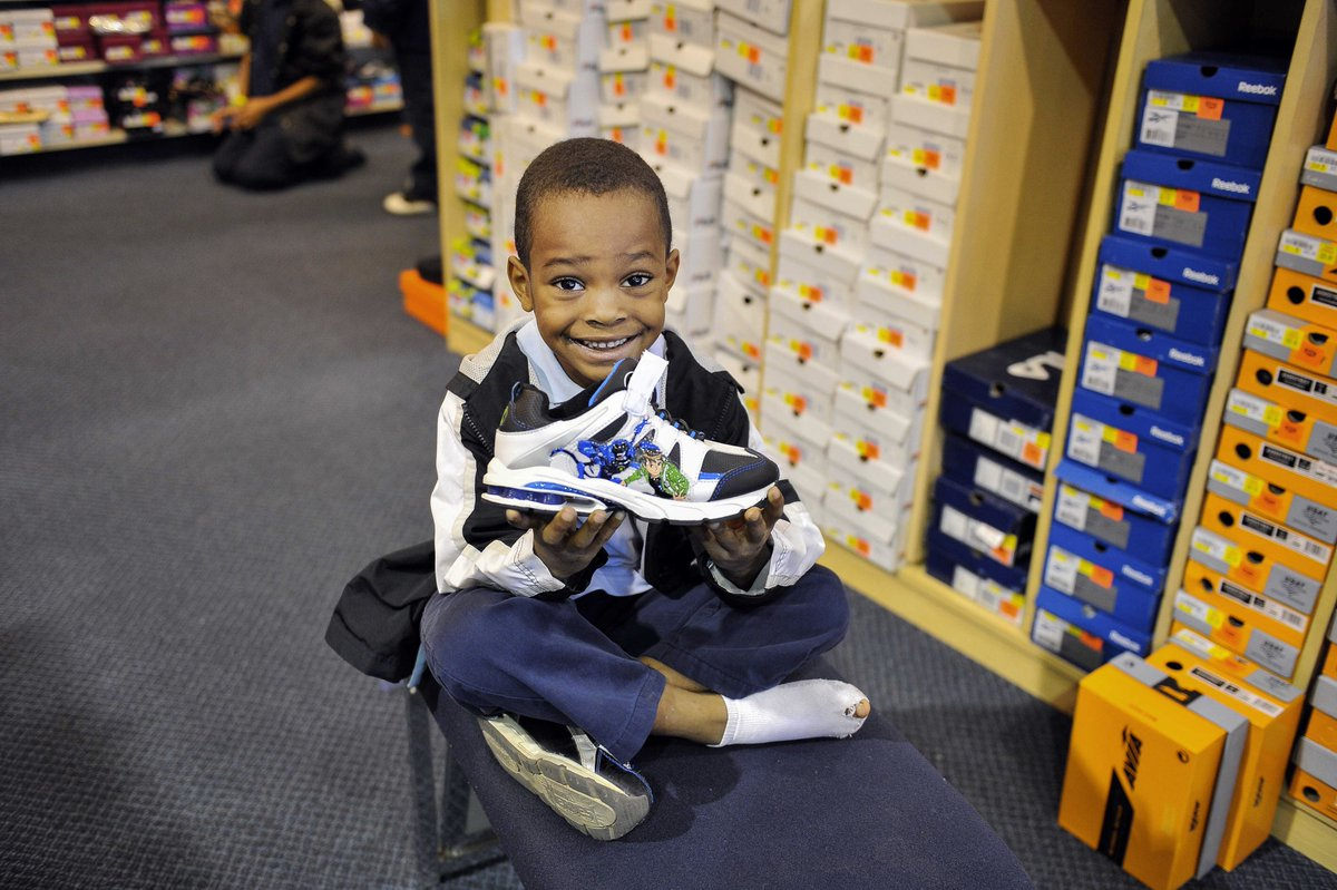 Hearts and soles 👟 Through a 60-year-old annual giving tradition, Sandia employees raise $10,000 to purchase shoes for local kids in need  #GiveBack