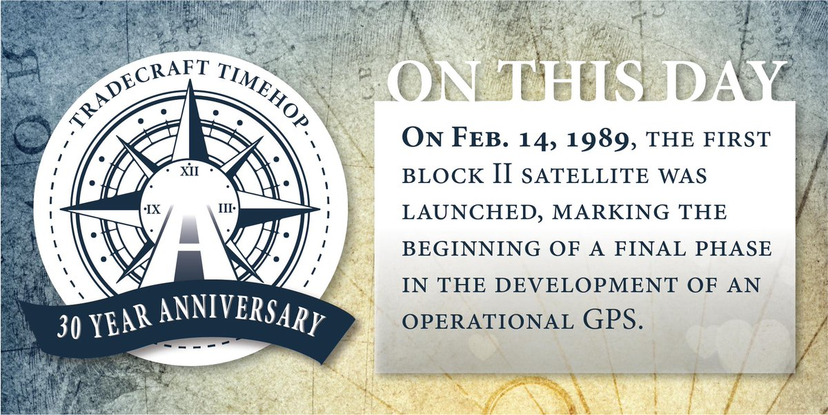 #OTD in 1989 the first 24 satellites that make up GPS was launched. #GEOINT365