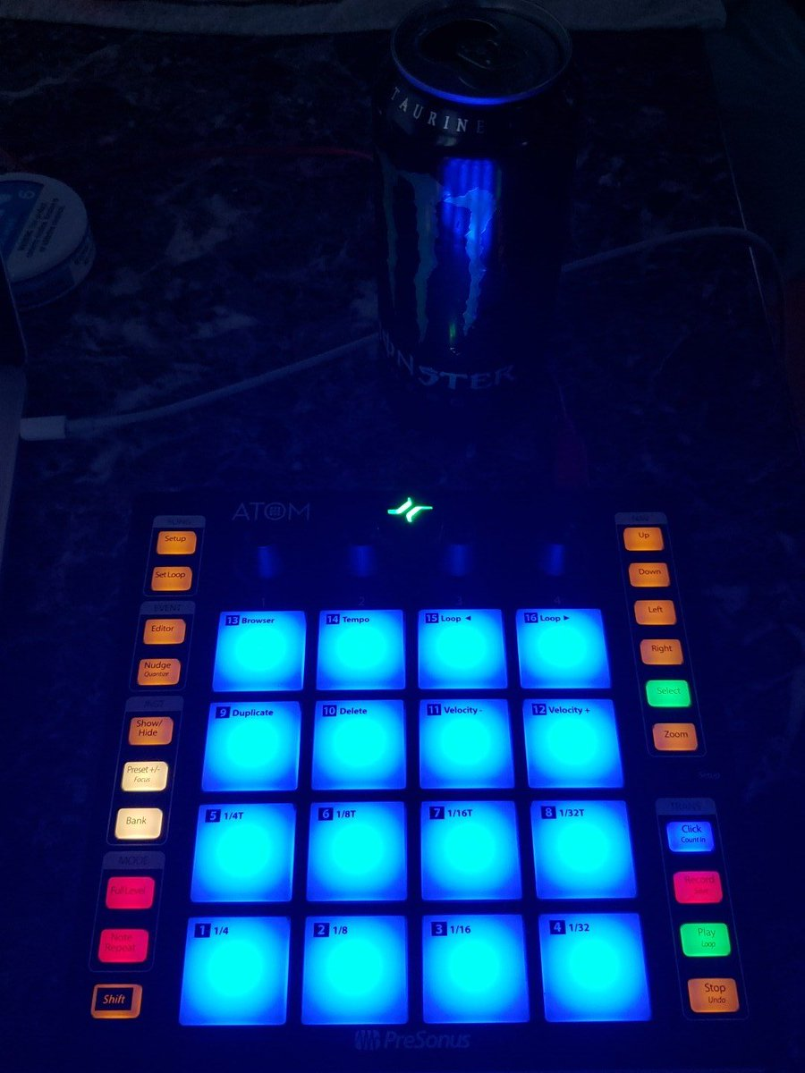 @PreSonus This beat pad is sick... 😜