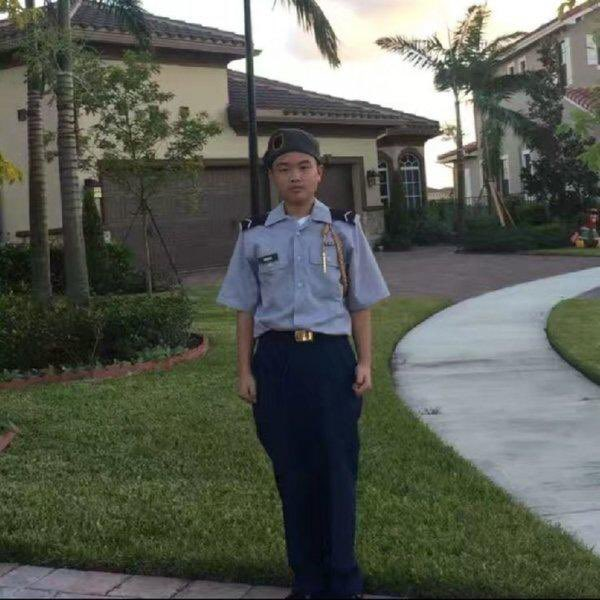 A year ago today JROTC cadet Peter Wang was killed at Marjory Stoneman Douglas High School in Parkland, Florida trying to defend his classmates. The @indyfund and I salute this brave young man. May he and the 16 other victims of the tragic shooting forever RIP. #ParklandStrong