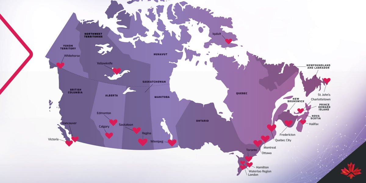 #InvestinCanada can help find your match. Your best location match... for a long-term business relationship ❤️! http://ow.ly/pkK230nGMhP
