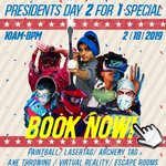 Image for the Tweet beginning: Presidents Day 2-For-1 Special! Book