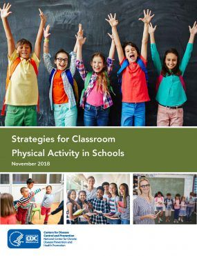 Add #ClassroomPhysicalActivity to your local school wellness policy. New resources from @CDCChronic and @Springboard2AS are available to provide a concrete steps on how to improve health and wellness http://bit.ly/2D4po2M.