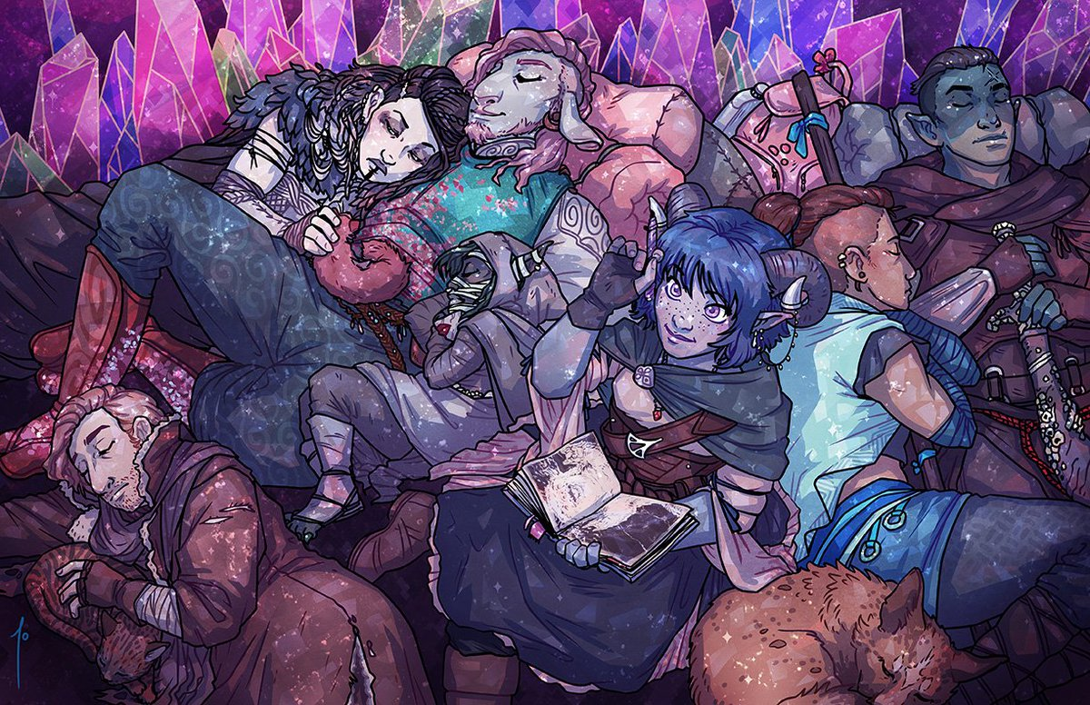 Critical Role Ar Twitter Fan Art Gallery Long Rest Featured Art By Joanna Johnen Https T Co I36kcy2z5h Https T Co Dcilgwryog Fjord and jester good #criticalrole #criticalrolefanart. long rest featured art by joanna johnen