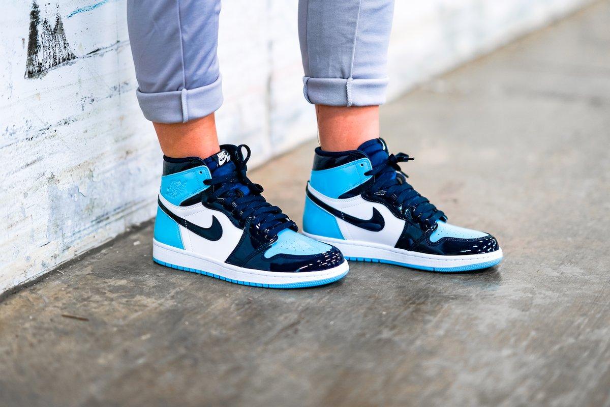 731caf65afe ... Air Jordan 1 Retro High OG 'Blue Chill' => http://bit.ly/2GkzHCc pic. twitter.com/T9TfEgYeoY. 8:01 AM - 14 Feb 2019