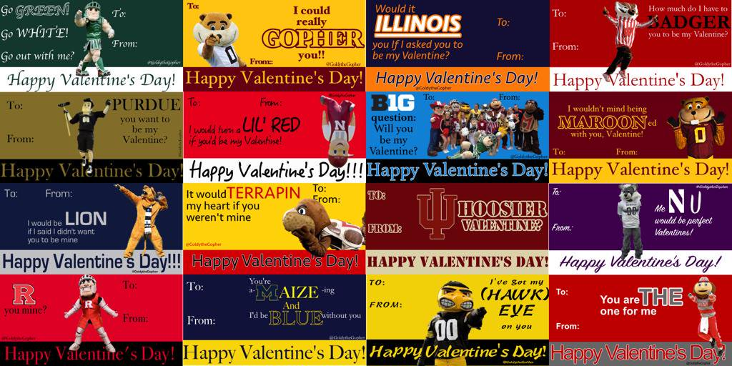 Not sure how to tell your Valentine how you truly feel? Send them some #B1GValentines! Which one will you send!